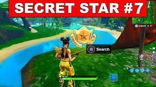 WEEK 7 SECRET BATTLE STAR LOCATION GUIDE! - Fortnite Find the Secret Battle Star in Loading Screen 7