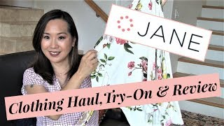 JANE.COM Clothing Haul   Try-on & Review   January 2018