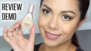 MAYBELLINE DREAM WONDER FOUNDATION | RESEÑA + DEMO | MARIEBELLE