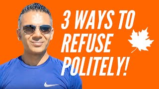 How To Refuse Indirectly in English? Reluctant Response I Lesson#10 | Speak Natural English