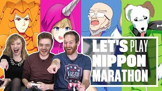 Let's Play Nippon Marathon - IT'S LIKE TAKESHI'S CASTLE MEETS MICRO MACHINES!