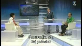 スロベニアテレビに出演