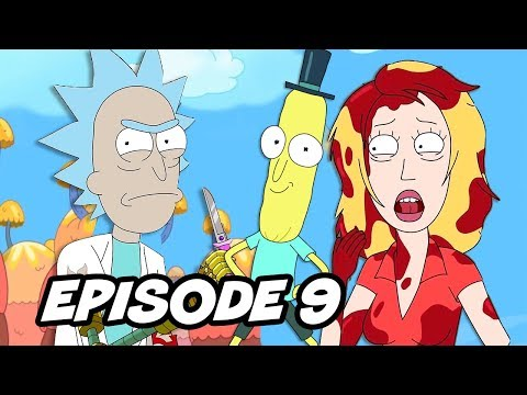 Rick and Morty Season 3 Episode 9 - Easter Eggs and References