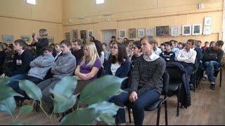 Встреча со студентами многопрофильного техникума. Третий Рим, Михайловск, Ставропольский край