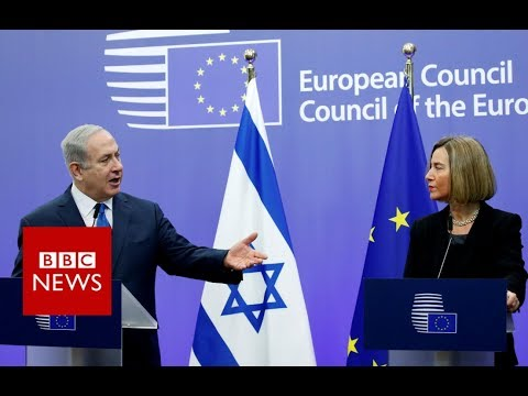 Jerusalem: Netanyahu expects EU to follow US recognition - BBC News