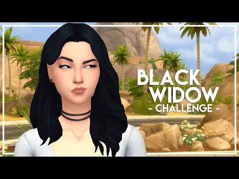 MURDER! // The Sims 4: Black Widow Challenge #8 - lilsimsie