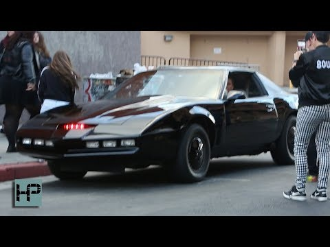 David Hasselhoff Back Behind the Wheel of KITT from 'Knight Rider'