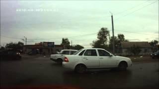 Авария VW Passat г.Актобе