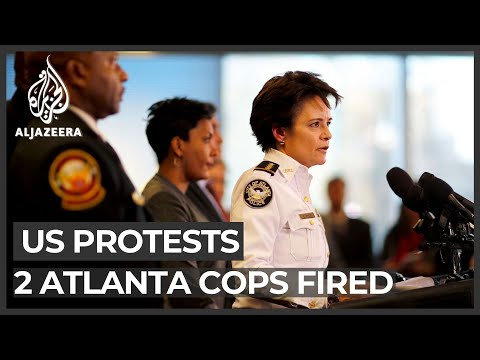 Atlanta mayor: Two officers fired for using excessive force on protesters