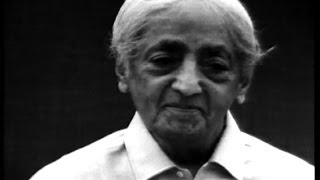 J. Krishnamurti - Who are you?