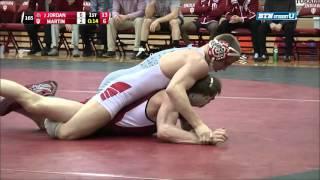 Ohio State at Indiana Wrestling: 165 Pounds- Jordan vs. Martin