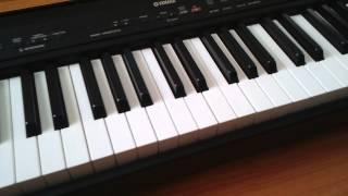 How to replace keys on Yamaha P80 digital pianos