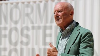 Norman Foster on the collaboration of the Droneport prototype