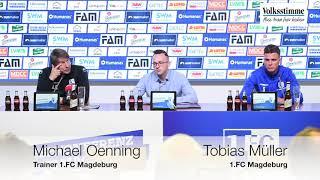 PK: FCM gegen Sandhausen