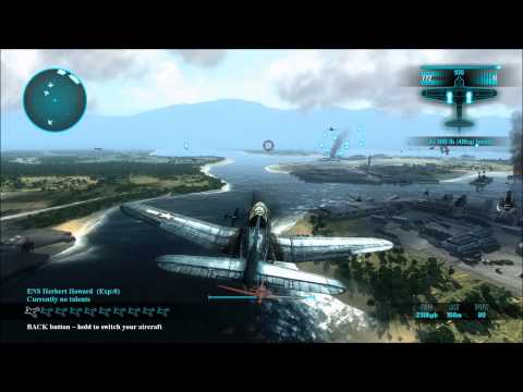 Lets play / Review  of Air Conflicts - Pacific Carriers