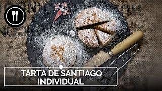 Cómo hacer la tradicional tarta de Santiago en formato individual