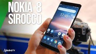 Nokia 8 Sirocco: el PRIMER GAMA ALTA real de Nokia. LO HEMOS PROBADO