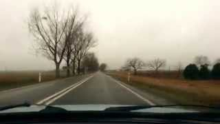 preview picture of video 'Polska, droga nr. 62, Brześć Kujawski, Kąkowa Wola, Redecz Krukowy, Jarantowice'