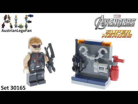 Vidéo LEGO Marvel 30165 : Hawkeye with equipment (Polybag)