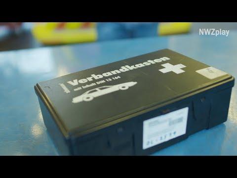 Erste Hilfe: Was gehört in einen Verbandskasten?