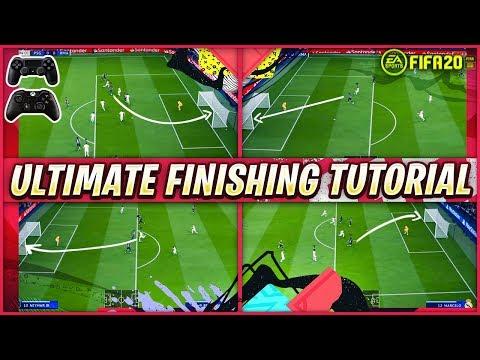 FIFA 20 FINISHING TUTORIAL - SECRET SHOOTING TRICKS TO SCORE GOALS EVERYTIME - SPECIAL TIPS & TRICKS