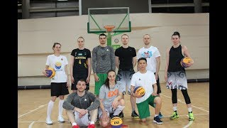 Тренировка Национальной сборной Казахстана по баскетболу 3х3 перед Кубком Азии 2018