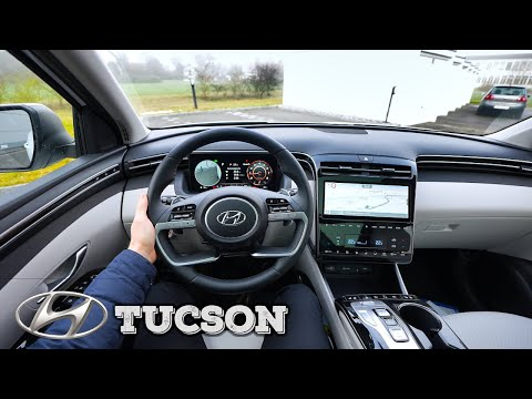 New Hyundai Tucson 2021 Test Drive Review POV