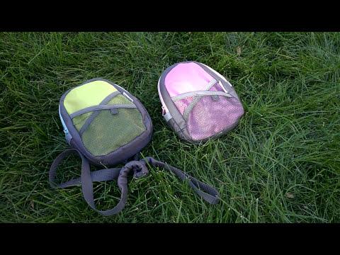 Munchkin рюкзак со страховочным поводком розовый