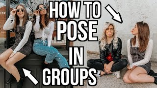 How To Pose In Photos | 5 Easy Group Photo Poses