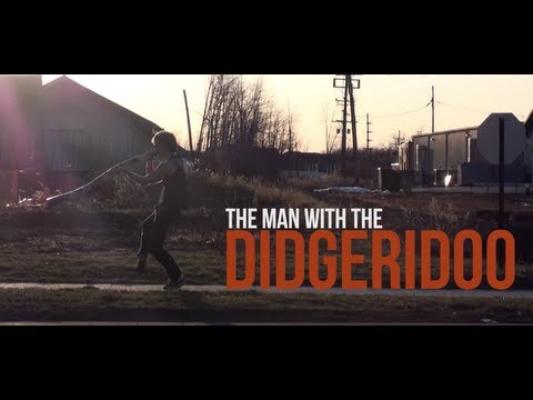 The Man with the Didgeridoo