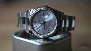 A Week On The Wrist: The Rolex Datejust