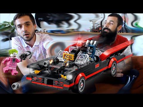 Vidéo LEGO DC Comics 76188 : La Batmobile de Batman - Série TV classique