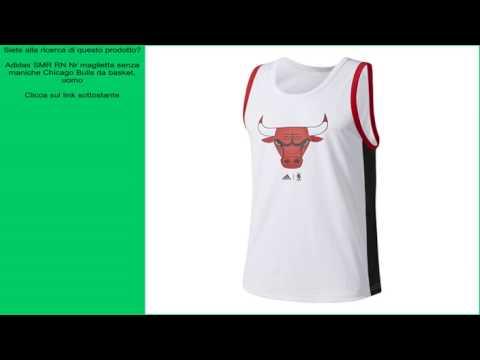 Adidas SMR RN Nr maglietta senza maniche Chicago Bulls da basket, uomo