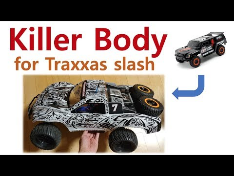 Killer body for Traxxas slash from banggood