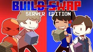 Minecraft Build Swap - SERVER MINIGAME!