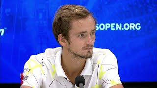 """Daniil Medvedev: """"I knew I had to leave my heart out there"""" 