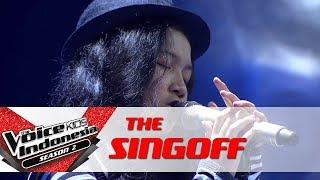 "Aisya ""Yang Terlupakan"" | Sing Off | The Voice Kids Indonesia Season 2 GTV 2017"