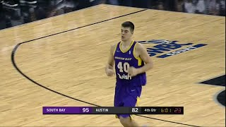 Ivica Zubac Posts 19 points & 11 rebounds vs. Austin Spurs