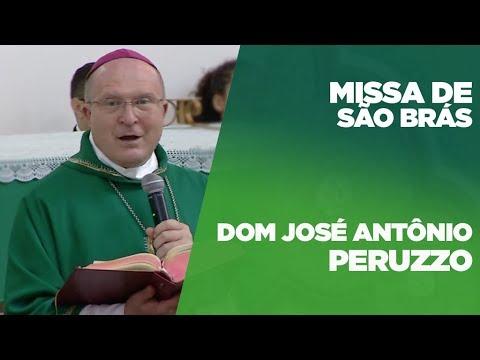 Missa presidida por Dom Peruzzo - Festa de São Braz