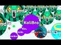 LEGENDARY SOLO VS FFA CLAN Agar io Solo Gameplays