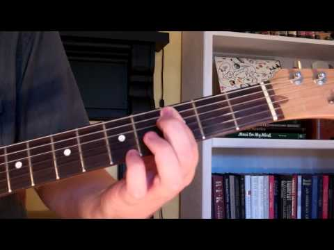 How To Play the D7+5 Chord On Guitar (D 7th augmented 5th)