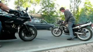 preview picture of video 'STANT DO TANT Koluszki bandit 1200 gsxr 750 gpz 500 rg'