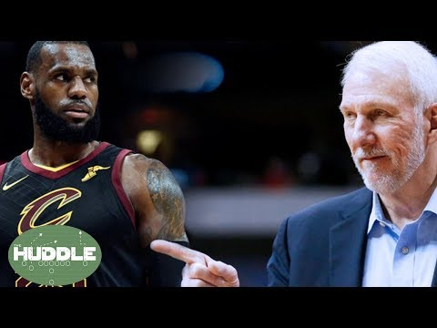 Was TNT Asking LeBron James About Coach Pop's Wife WRONG? | Huddle