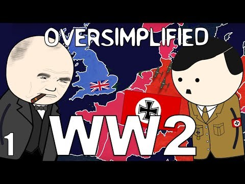 Download WW2 - OverSimplified (Part 1) HD Mp4 3GP Video and MP3
