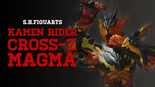 S.H.Figuarts | Unboxing x Review Kamen Rider Cross-Z Magma | Indonesia