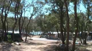 preview picture of video '2012 Camping  Strasko in Novalja/eiland Pag/Kroatie'