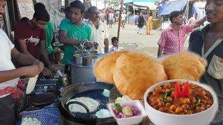 Hing Kachari with Ghugni Chatni | Super Taste Indian Street Food | Street Food Loves You