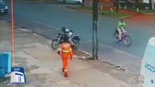 Homem Tem Infarto Em Cima De Moto E Morre   Tribuna Da Massa Manhã (130418)