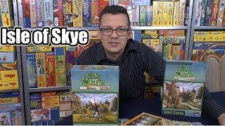 Isle of Skye (Grundspiel + 1. Erweiterung Wanderer + Info zur 2. Erweiterung) - Lookout - ab 8 Jahre