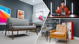 Modern Home Office Studio Tour 2020 (Makeover)